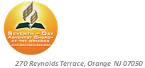 Church of the Oranges -  A Seventh-day Adventist Congregation