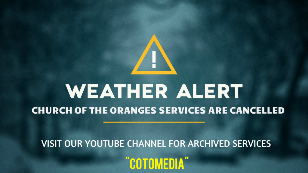 WEATHER ALERT YT